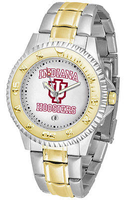 Indiana Hoosiers Competitor Two Tone Stainless Steel Men's Watch