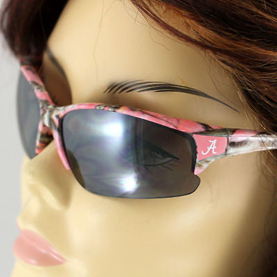 Alabama Roll Tide Pink Camo Print Sunglasses
