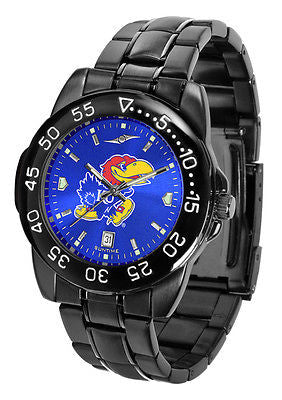 Kansas Jayhawks Men's Fantom Sport AnoChrome Watch