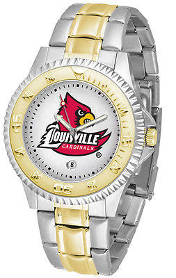 Louisville Cardinals Competitor Two Tone Stainless Steel Men's Watch