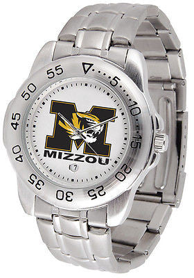 Missouri Tigers Men's Sports Stainless Steel Watch