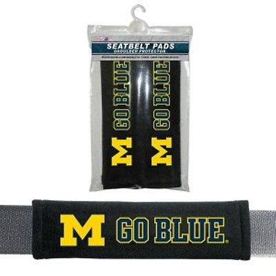 Michigan Wolverines Seat Belt Pads
