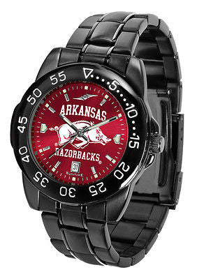 Arkansas Razorbacks Men's Fantom Sport AnoChrome Watch