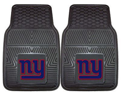 New York Giants Vinyl  Auto Front Floor Mats