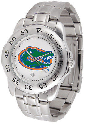 Florida Gators Men's Sports Stainless Steel Watch