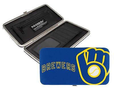 Milwaukee Brewers Ladies Mesh Wallet