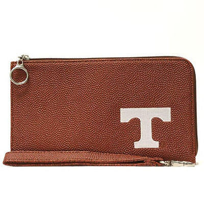 Tennessee Vols Football Texture Embroidered Wristlet Bag/Wallet