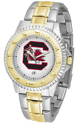 South Carolina Gamecocks Men's Competitor Two Tone Stainless Steel Watch