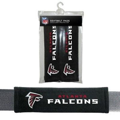 Atlanta Falcons Padded Seat Belt Pads