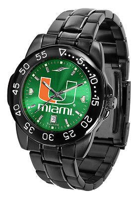 Miami Hurricanes Men's Fantom Sport AnoChrome Watch