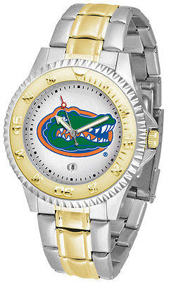 Florida Gators Competitor Two Tone Stainless Steel Men's Watch