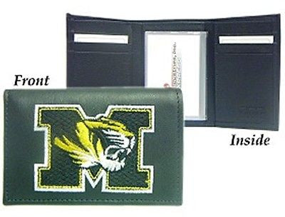 Missouri Tigers Men's Tri Fold Wallet