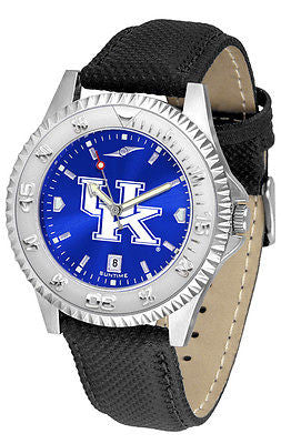 Kentucky Wildcats Men's Competitor AnoChrome Leather Band Watch