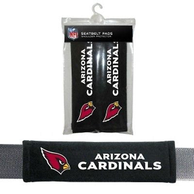 Arizona Cardinals Padded Seat Belt Pads