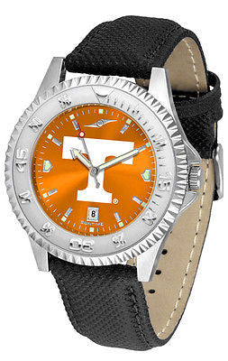 Tennessee Vols Men's Competitor AnoChrome Leather Band Watch