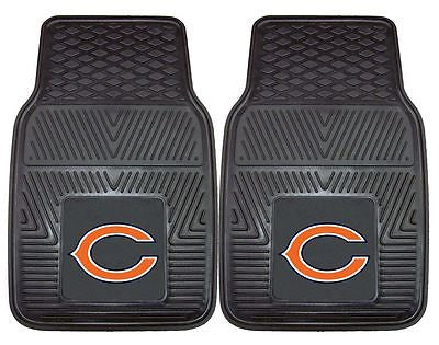 Chicago Bears Vinyl Auto Front Floor Mats