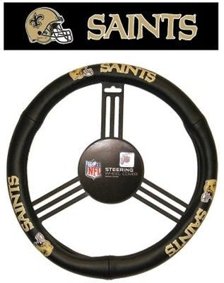 New Orleans Saints Leather Steering Wheel Cover (OUT OF STOCK)