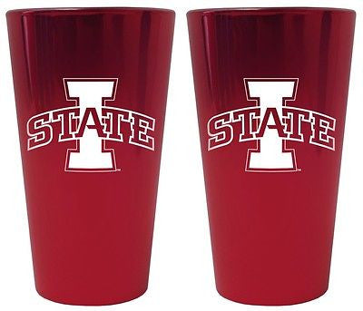 Iowa State Cyclones Lusterware Glass Set