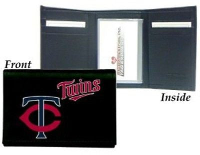 Minnesota Twins Men's Tri Fold Wallet