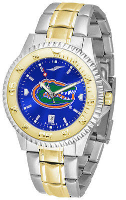 Florida Gators Men's Competitor Stainless Steel AnoChrome Two Tone Watch