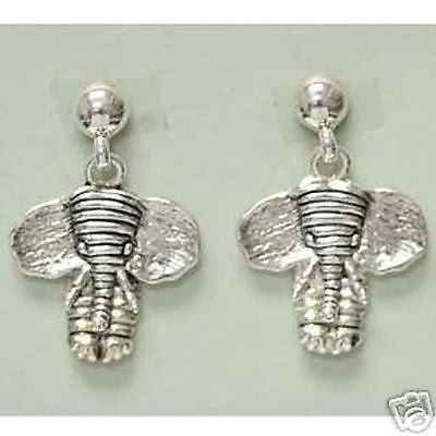 Alabama Roll Tide Elephant Earrings