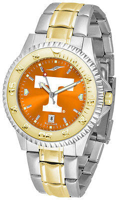 Tennessee Vols Men's Competitor Stainless Steel AnoChrome Two Tone Watch