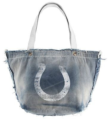Indianapolis Colts Hand Distressed Vintage Tote