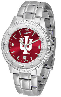 Indiana Hoosiers Men's Competitor Stainless Steel AnoChrome Watch