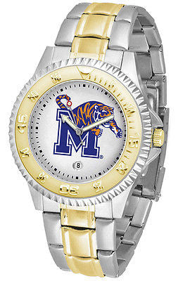 Memphis Tigers Competitor Two Tone Stainless Steel Men's Watch