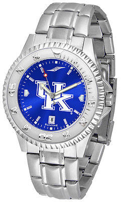 Kentucky Wildcats Men's Competitor Stainless Steel AnoChrome Watch
