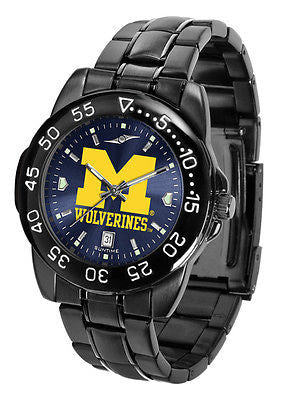 Michigan Wolverines Men's Fantom Sport  AnoChrome Watch