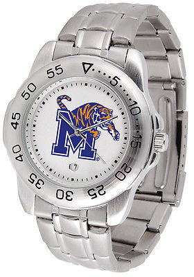 Memphis Tigers Men's Sports Stainless Steel Watch