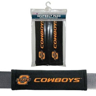 Oklahoma State Cowboys Seat Belt Pads