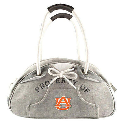 Auburn Tigers Hoodie Bowler Style Purse