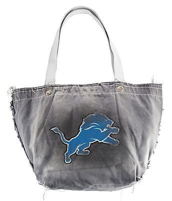 Detroit Lions Hand Distressed Vintage Tote