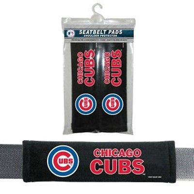 Chicago Cubs Seat Belt Pads