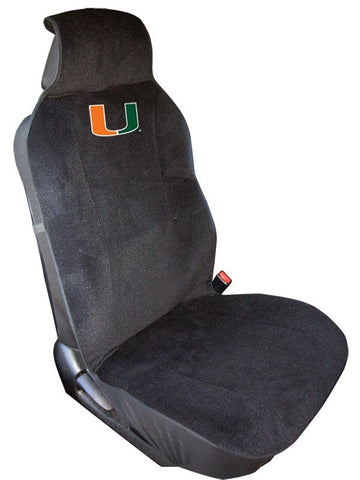 Miami Hurricanes Auto Seat Cover