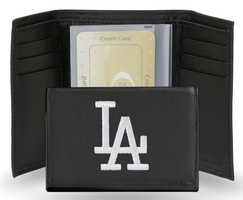 Los Angeles Dodgers Embroidered Men's Tri Fold Wallet