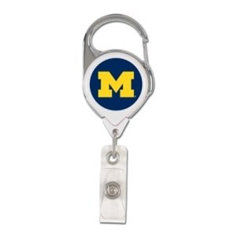 Michigan Wolverines ID Badge Holder