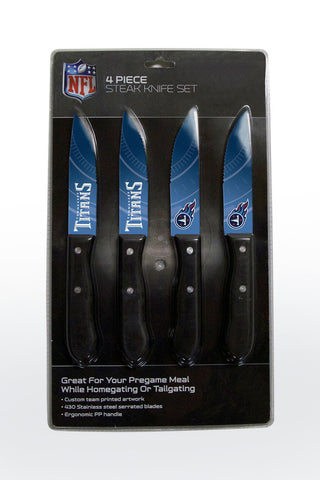 Tennessee Titans 4 Piece Knife Set