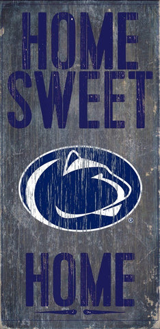 Penn State Home Sweet Home Wood Wall Sign