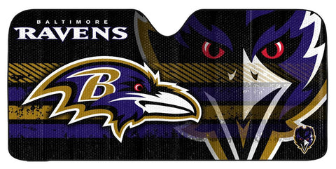 Baltimore Ravens Auto Window Sun Shade