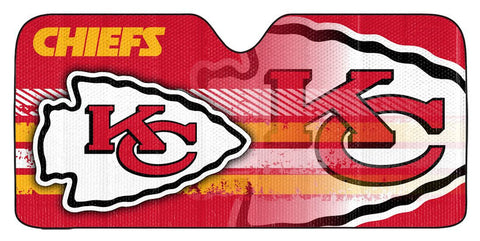 Kansas City Chiefs Auto Window Sun Shade