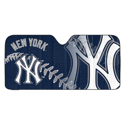 New York Yankees Auto Window Sun Shade