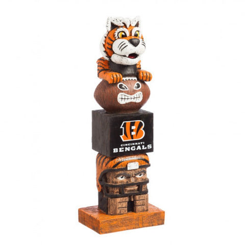 Cincinnati Bengals Tiki Totem Pole (OUT OF STOCK)