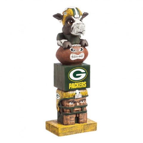 Green Bay Packers Tiki Totem Pole
