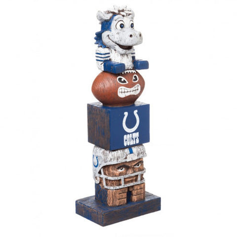 Indianapolis Colts Team Tiki Totem Pole