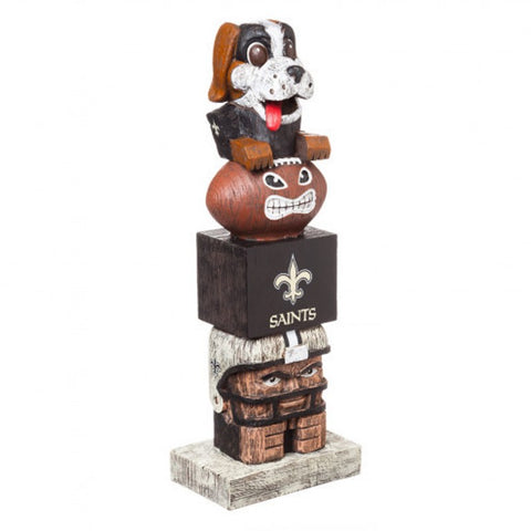 New Orleans Saints Tiki Totem Pole