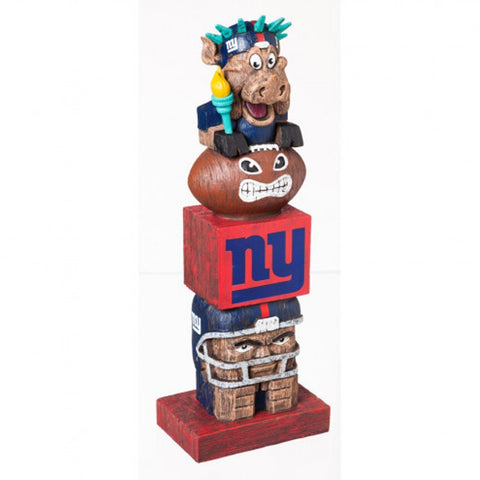 New York Giants Tiki Totem Pole