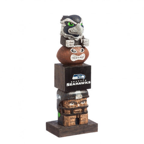 Seattle Seahawks Tiki Totem Pole